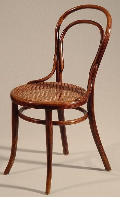 Thonet Sessel Nr 14 Um 1875 Grossserien Version Im Bild Eine Eher Seltene Mit Edler Palisander Immitation In Der Lackierung